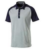 Puma Golf Mens Tailored Saddle Polo Shirt