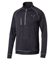 Puma Golf Mens PWRWARM Elevated Quarter Zip Pullover