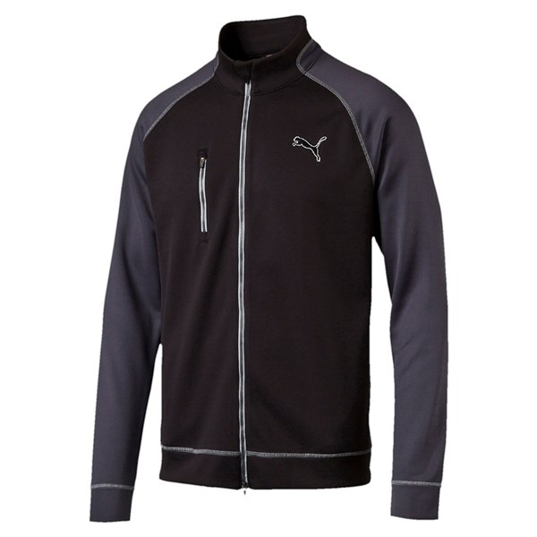 Puma  Mens PWRWARM ColourBlock Full Zip Top