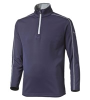 Puma Golf Boys Core Fleece Quarter Zip Top