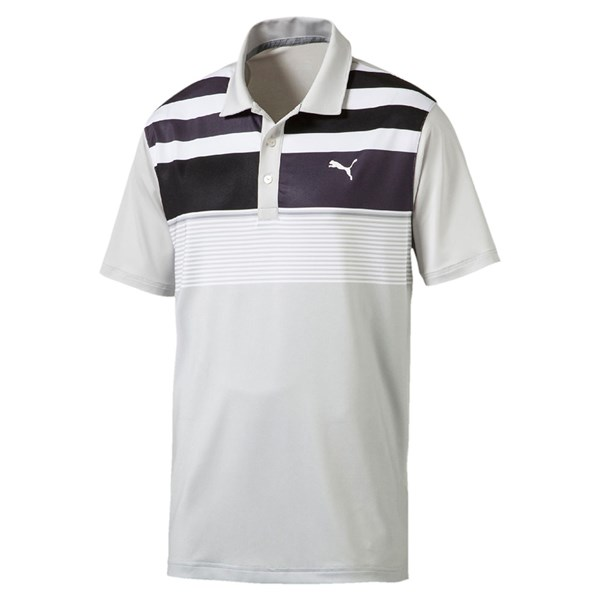 Puma  Mens Road Map Asym Polo Shirt