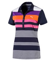 Puma Golf Ladies Road Map Polo Shirt