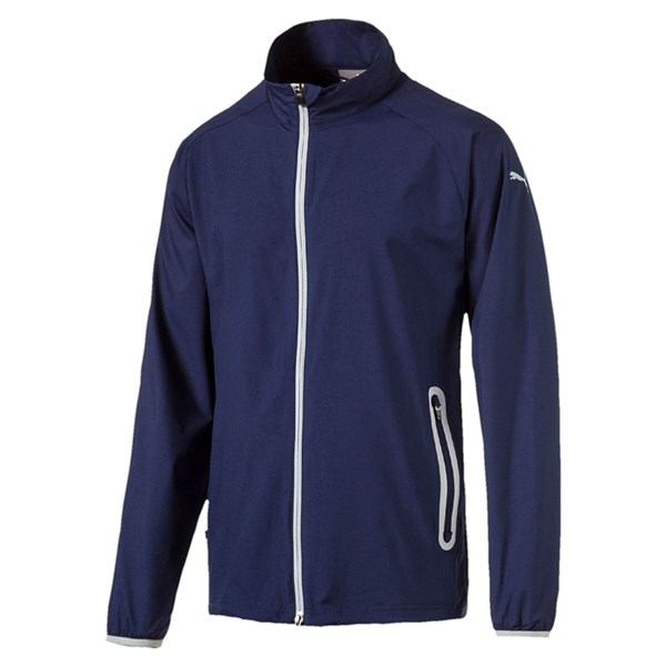 Puma  Mens Full Zip Wind Jacket