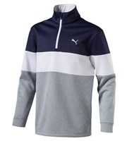 Puma Golf Boys PWRWARM Quarter Zip Pullover