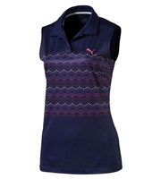 Puma Golf Ladies 18 Hole Sleeveless Polo Shirt