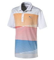 Puma Golf Boys Levels Polo Shirt