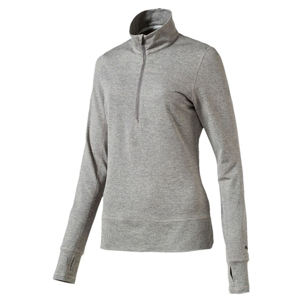 Puma  Ladies Quarter Zip Popover