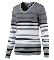 Puma Golf Ladies Depths V Neck Sweater