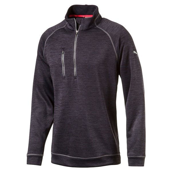 Puma  Mens Elevated PWRWarm Quarter Zip Pullover