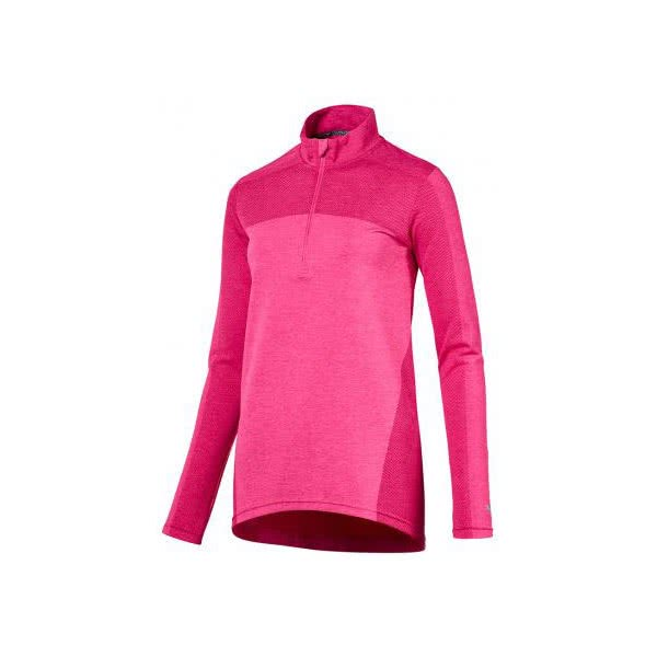 Puma Ladies Evoknit Seamless Quarter Zip Pullover. Double tap to zoom. 1   2  3 177dcc48505