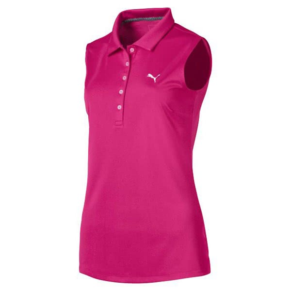Puma Ladies Pounce Sleeveless Polo Shirt