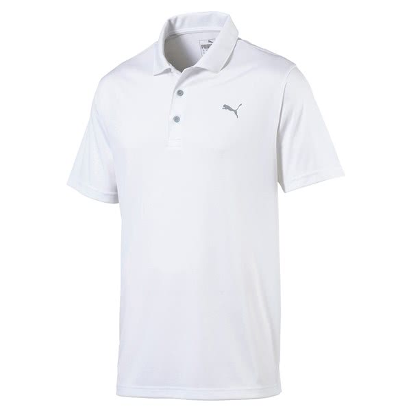 Puma Mens Rotation Solid Polo Shirt