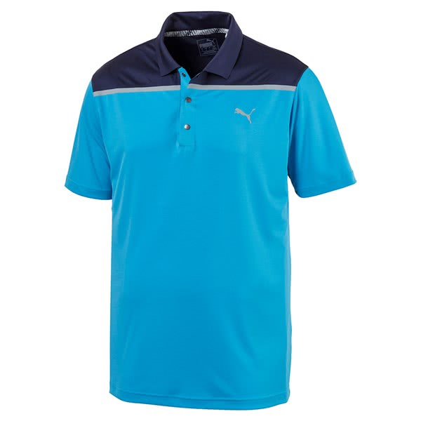 Puma Mens Bonded Colourblock Polo Shirt