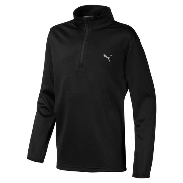 Puma Boys Quarter Zip Top