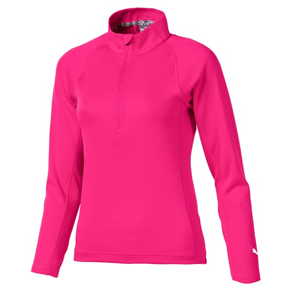 Puma Girls Quarter Zip Pullover