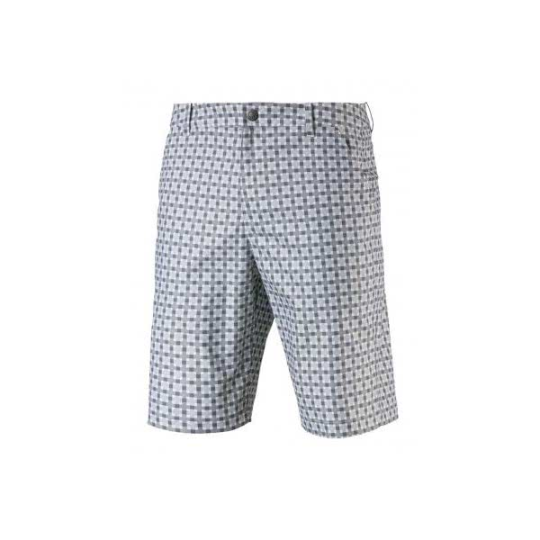 Puma Mens Jackpot Plaid Shorts