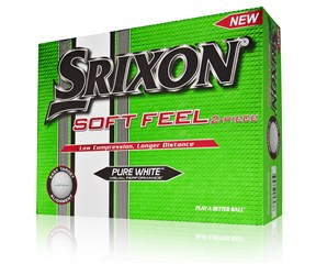Srixon Soft Feel White Golf Balls  12 Balls