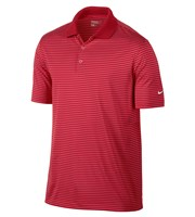 Nike Mens Victory Stripe Polo Shirt  Logo On Sleeve