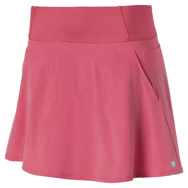 Puma Ladies PWRSHAPE Solid Woven Skirt