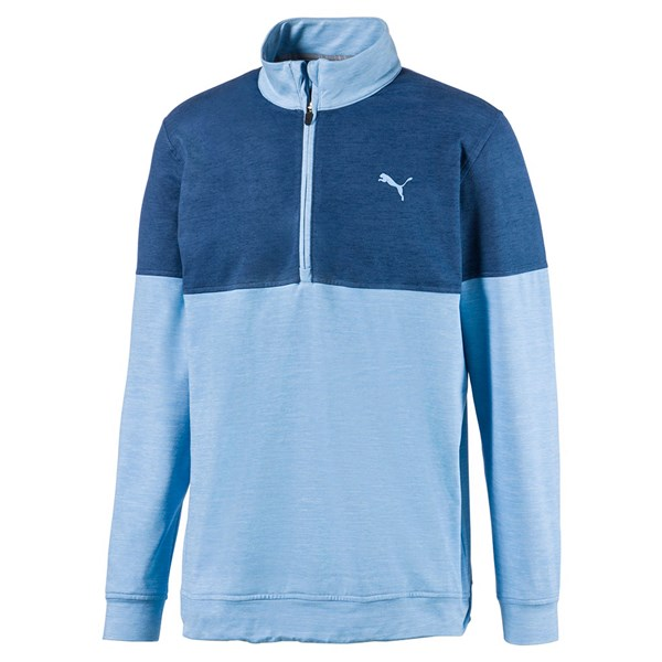 Puma Mens Quarter Zip Warm Up Pullover