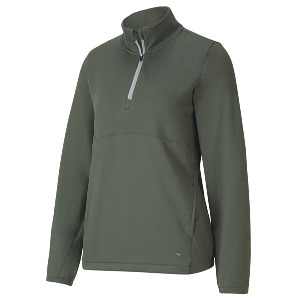 Puma Ladies Cloudspun Quarter Zip Pullover