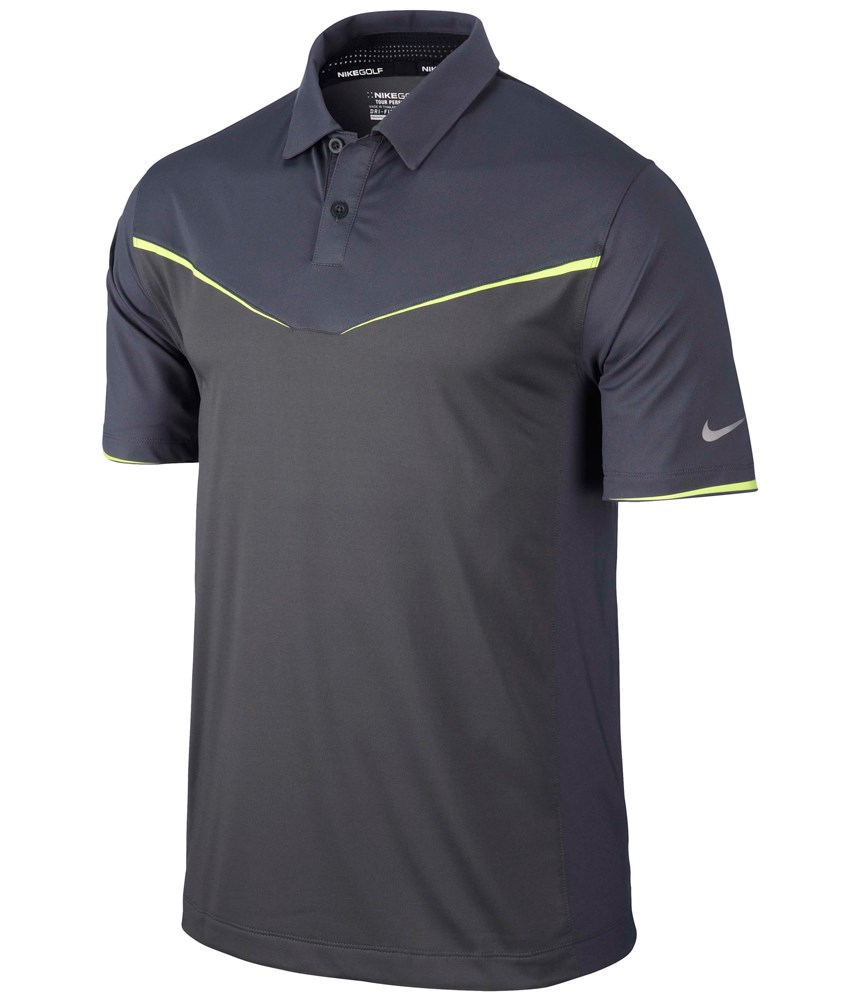 Nike Mens Innovation Colour Block Golf Polo Shirt 2014 ...