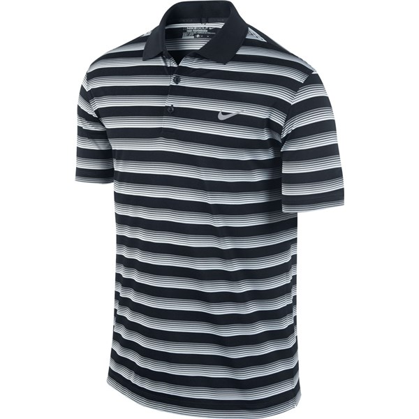 629486928 Nike Mens Tech Vent Stripe Polo Shirt. Double tap to zoom. 1 ...