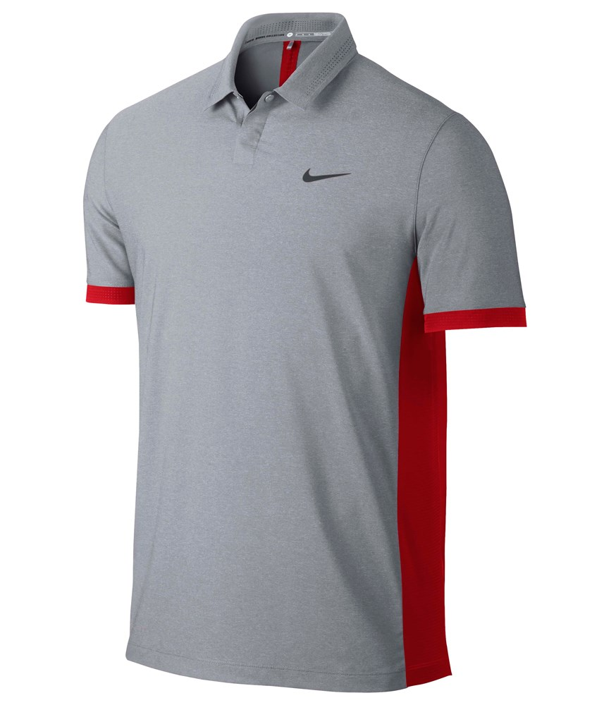 Nike mens tw elite cool formation polo shirt golfonline for Cool mens polo shirts