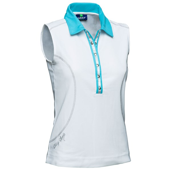 Daily Sports Ladies Alexis Sleeveless Polo Shirt