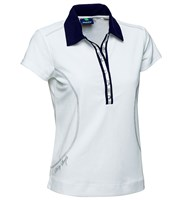Daily Sports Ladies Alexis Cap Sleeve Polo Shirt