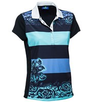 Daily Sports Ladies Corinne Cap Sleeve Polo Shirt