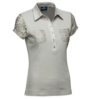 Daily Sports Ladies Cassidy Cap Sleeve Polo Shirt