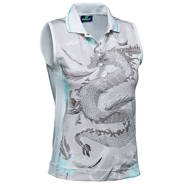 Daily Sports Ladies Adelle Sleeveless Polo Shirt
