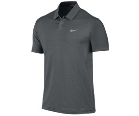 Nike Mens TW Control Stripe Polo Shirt