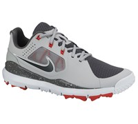 Nike Mens TW 14 Mesh Golf Shoes (Grey/Black/Red)