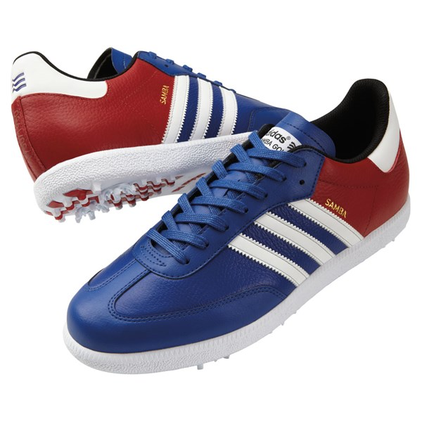 adidas samba limited british open edition shoes  blue  red