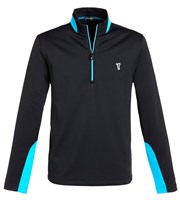 Golfino Mens Techno Stretch Half Zip Fleece Sweater