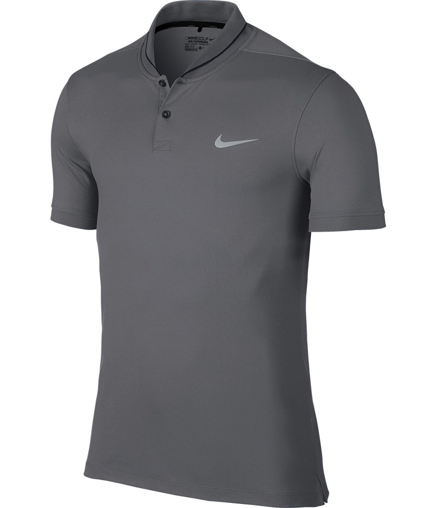 Nike mens modern fit tour dry heather polo shirt golfonline Modern fit golf shirt
