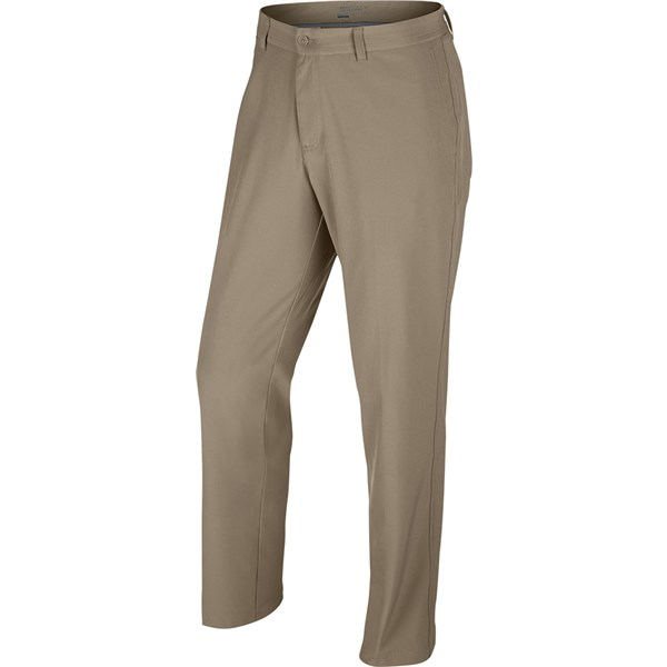 Nike Mens Flat Front Stretch Trouser