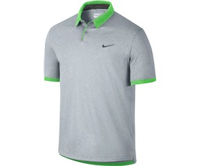 Nike Mens Transition Heather Polo Shirt