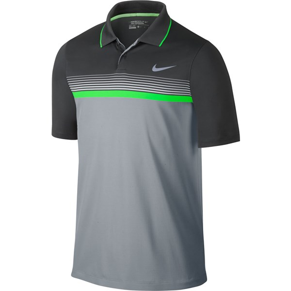 ec94c1b27 Nike Mens Modern Fit Momentum Stripe Polo Shirt. Double tap to zoom. 1 ...