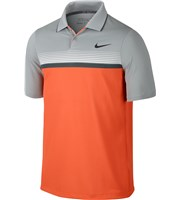 Nike Mens Modern Fit Momentum Stripe Polo Shirt