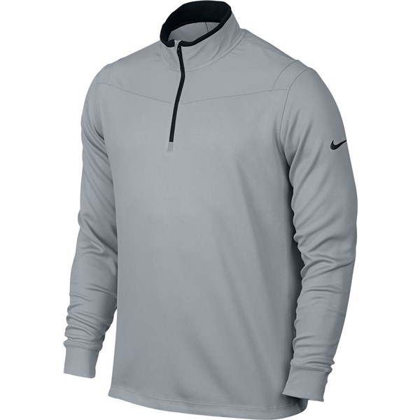 336f72a96f3a Nike Mens Dri-Fit Half Zip Long Sleeve Top. Double tap to zoom. 1 ...