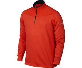 Nike Mens Dri-Fit Half Zip Long Sleeve Top