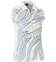 Daily Sports Ladies Leja Sleeveless Polo Shirt