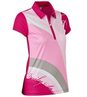 Daily Sports Ladies Lottie Cap Sleeve Polo Shirt