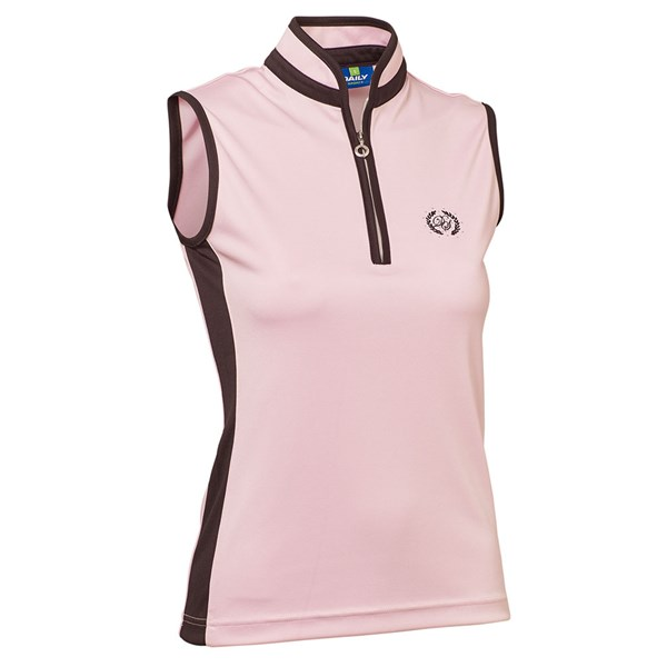 Daily Sports Ladies Marge Sleeveless Polo Shirt