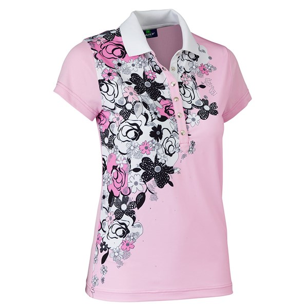 Daily Sports Ladies Nell Cap Sleeve Polo Shirt