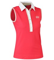Daily Sports Ladies Shea Sleeveless Polo Shirt