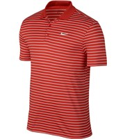 Nike Golf Mens Victory Mini Stripe Polo Shirt  Logo on Chest
